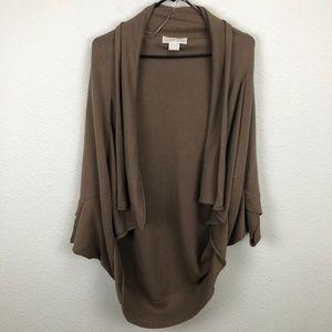 MICHAEL Michael Kors Open Front Cardigan Size S/M